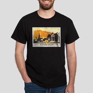 Edinburgh Scotland Dark T-Shirt