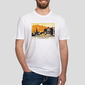 Edinburgh Scotland Fitted T-Shirt
