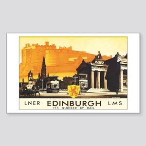 Edinburgh Scotland Rectangle Sticker