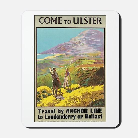 Ulster Ireland Mousepad
