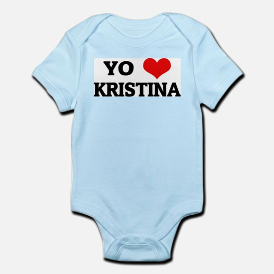 Amo (i love) Kristina Infant Creeper