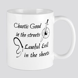 Chaotic Good in the Streets Mugs