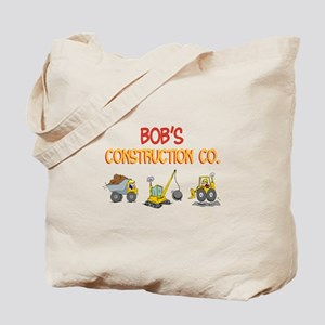 Bob's Construction Tractors Tote Bag
