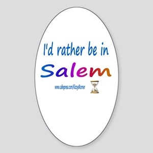 DOOL SALEM Oval Sticker