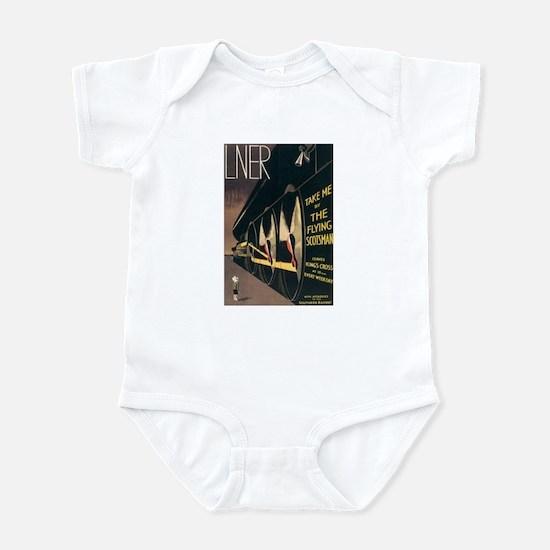 Lner Railway Scotland Infant Bodysuit