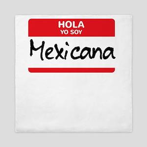 Mexicana Latino Halloween Costume Mexi Queen Duvet