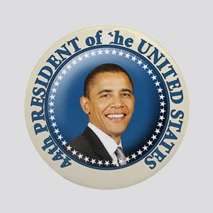 President Obama inauguration Ornament (Round)