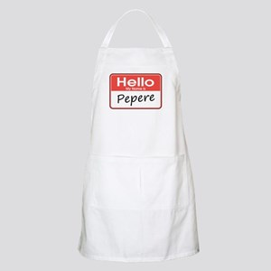 Hello, My name is Pepere BBQ Apron