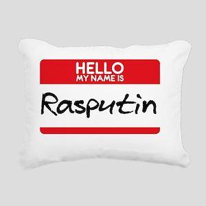 Rasputin Russian Tsar Ru Rectangular Canvas Pillow