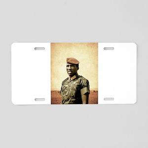 Thomas Sankara - Burkina Fa Aluminum License Plate