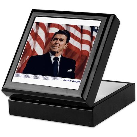 Reagan on Conservatives as Re Keepsake Box