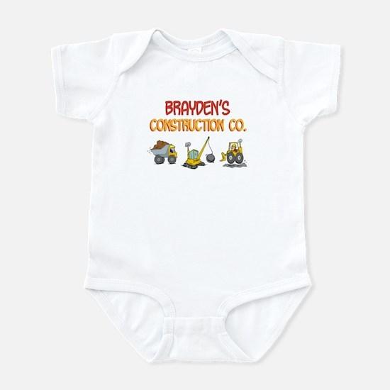 Brayden's Construction Tracto Infant Bodysuit