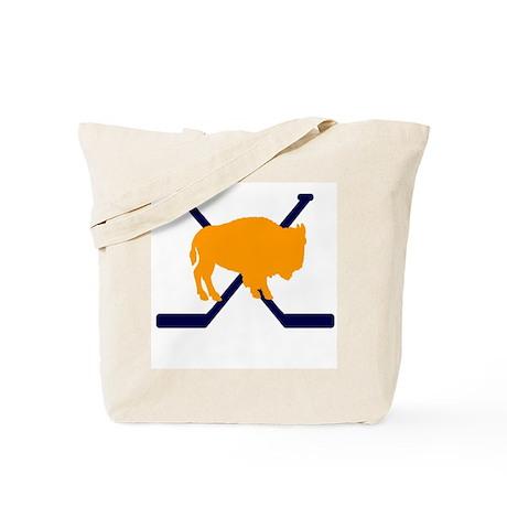 Buffalo Cross-Sticks Tote Bag