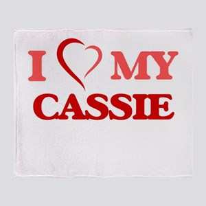 I love my Cassie Throw Blanket