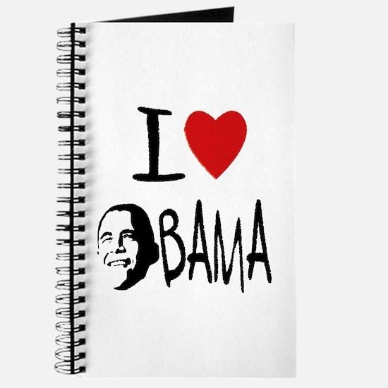 I love Obama Journal