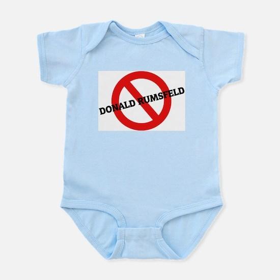 Anti Donald Rumsfeld Infant Creeper