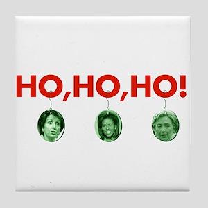 Ho, ho, ho Tile Coaster