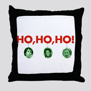 Ho, ho, ho Throw Pillow