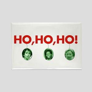 Ho, ho, ho Rectangle Magnet