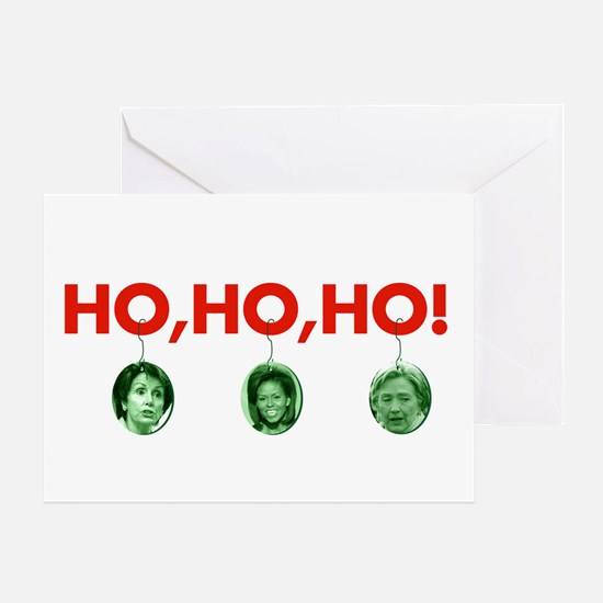 Ho, ho, ho Greeting Card