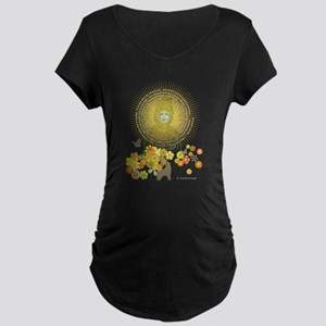 Franziskus_10ShirtE_dark Maternity T-Shirt