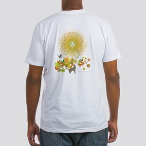 Canticle of the Sun: Fitted T-Shirt