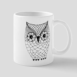 Black and White Owl 2 Mug