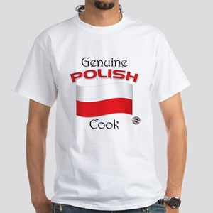 Genuine Polish Cook White T-Shirt
