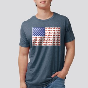 USA Patriotic Dachshund T-Shirt