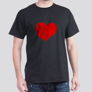 I Love California Heart T-Shirt