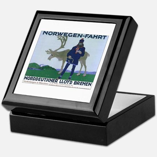 Norway Travel Keepsake Box