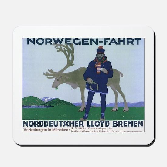 Norway Travel Mousepad