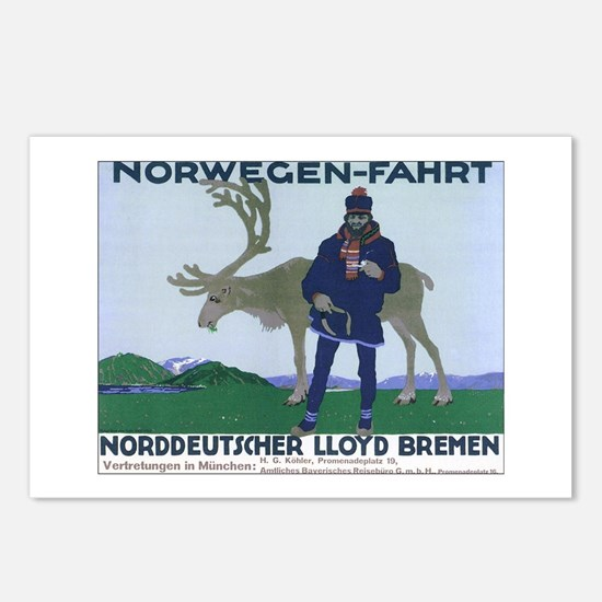 Norway Travel Postcards (Package of 8)