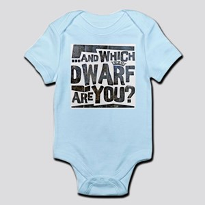 And Which Dwarf Are You? Infant Bodysuit