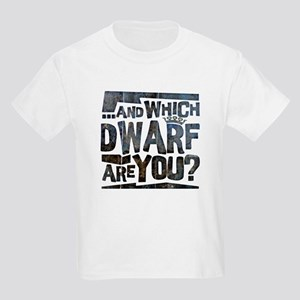 And Which Dwarf Are You? Kids Light T-Shirt