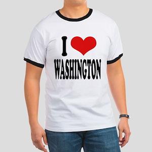 I Love Washington Ringer T