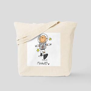 Astronaut Moonwalk Tote Bag