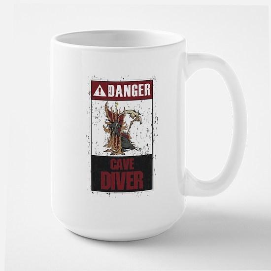 NEW CAVE DIVER Large Mug