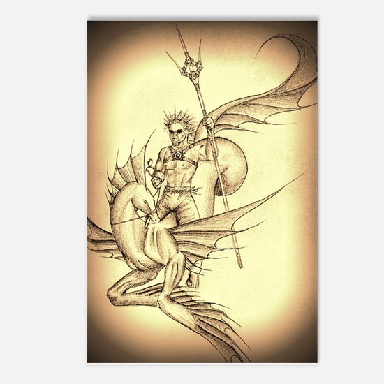 Cool Greek gods Postcards (Package of 8)