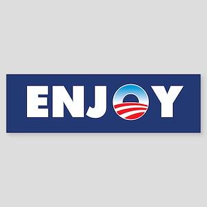 Obama EnjoyBumper Sticker
