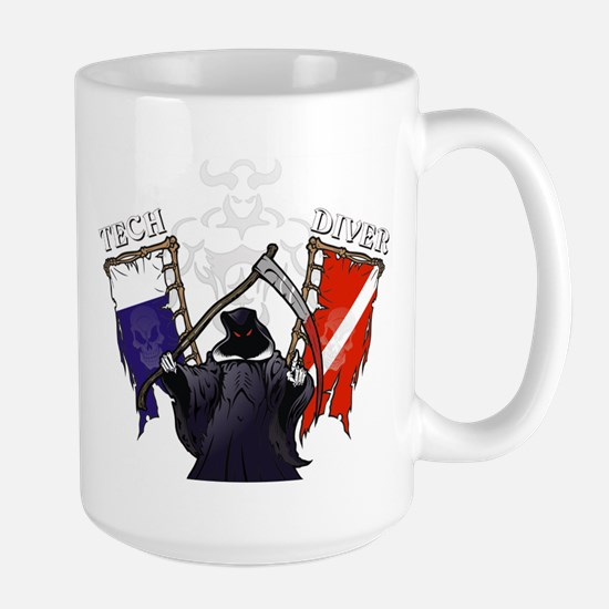 TECH DIVER Large Mug