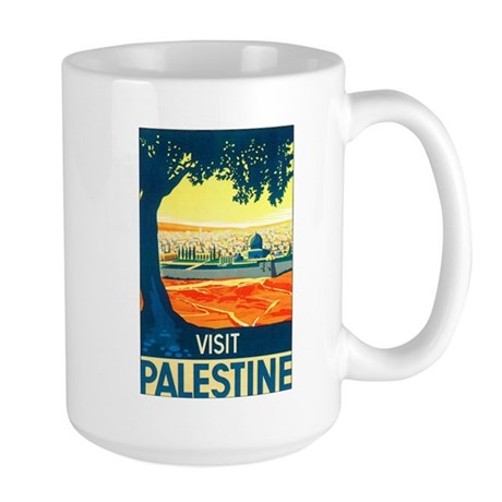Palestine Travel Large Mug