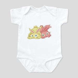Cute Bunnies Infant Bodysuit