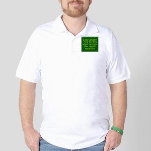 Legitimate pro-lifers. Golf Shirt