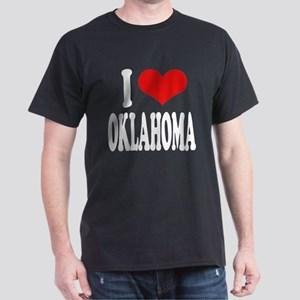 I Love Oklahoma Dark T-Shirt
