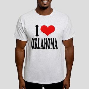 I Love Oklahoma Light T-Shirt