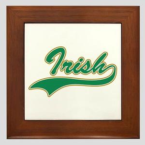IRISH LOGO Framed Tile