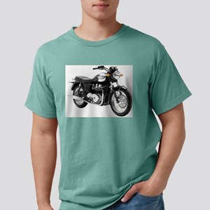 Triumph Bonneville Green/White #1 T-Shirt