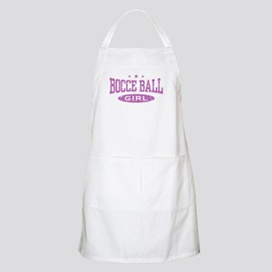 Bocce Ball Girl BBQ Apron