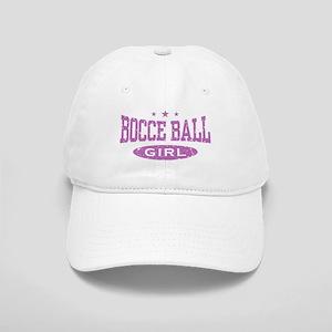 Bocce Ball Girl Cap
